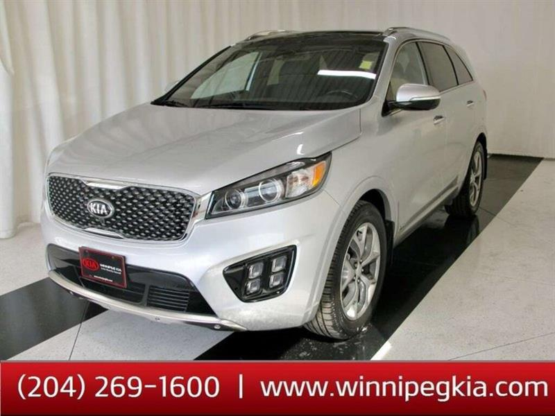 2017 Kia Sorento SX+ *Premium Nappa Leather, Navi. Seats 7!* #17KS97289T