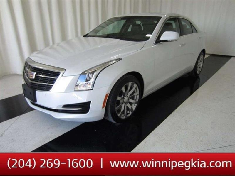 2018 Cadillac ATS Luxury AWD #18CA78133
