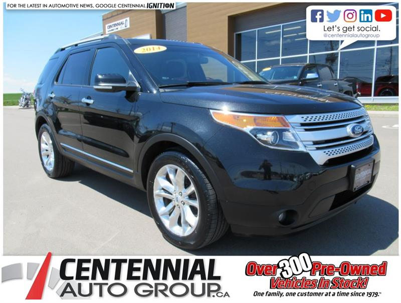 2014 Ford Explorer XLT | 4WD | Leather | Moon Roof #U594A