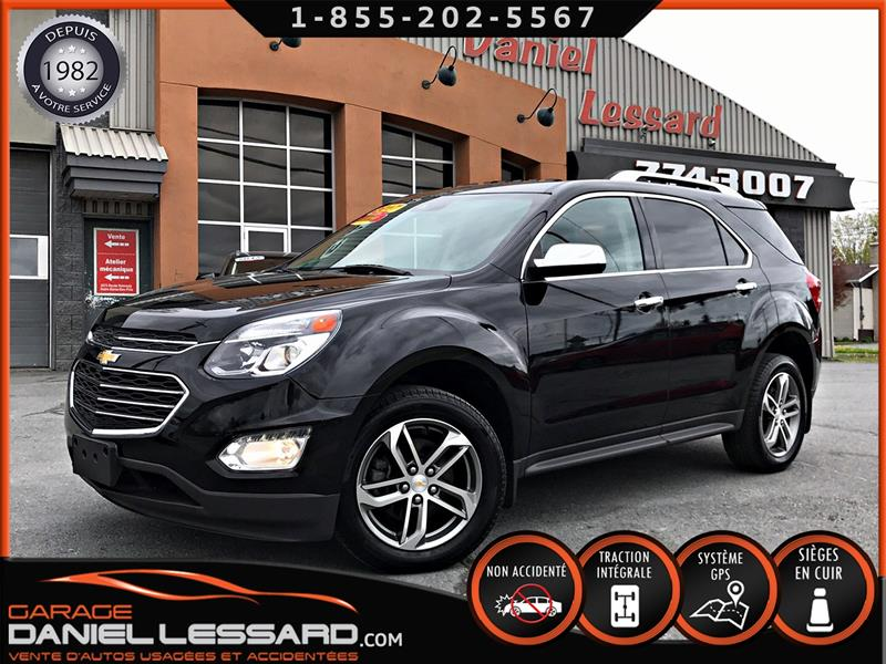 Chevrolet Equinox 2017 PREMIER AWD, GPS, CUIR 2 TONS, TOIT #78517