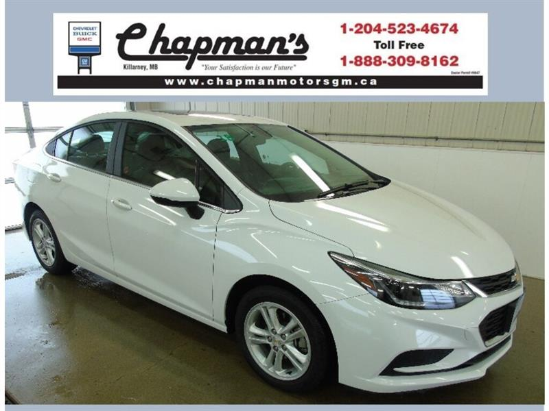 2018 Chevrolet Cruze True North, Sunroof, USB, Bluetooth #K-017A