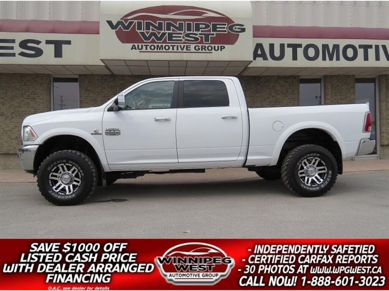 2015 Dodge Ram 2500 LONGHORN CUMMINS 4X4, LOADED 1 OWNER LOCAL TRADE #DWL5070A