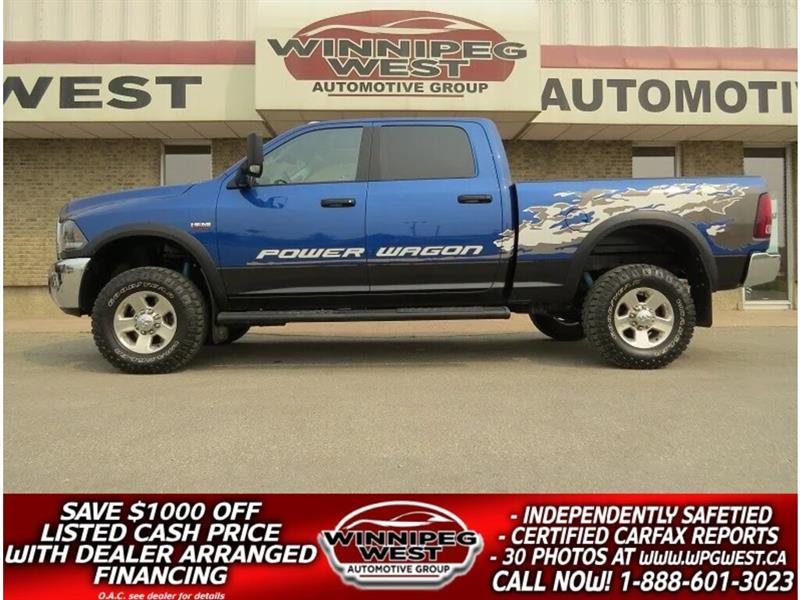 2015 Ram 2500 POWER 6.4L HEMI 4X4, ROOF, HTD SEATS, SHARP! #GW4675