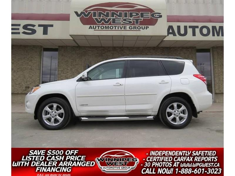 2010 Toyota RAV4 RARE LIMITED V6 4X4, ROOF, BLUETOOTH, LOCAL #GIW5031