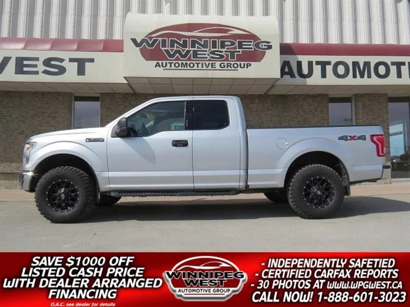 2016 Ford F-150 LIFTED 5.0L V8  4X4, EXTRA SHARP & CLEAN, LOCAL #GWL4603