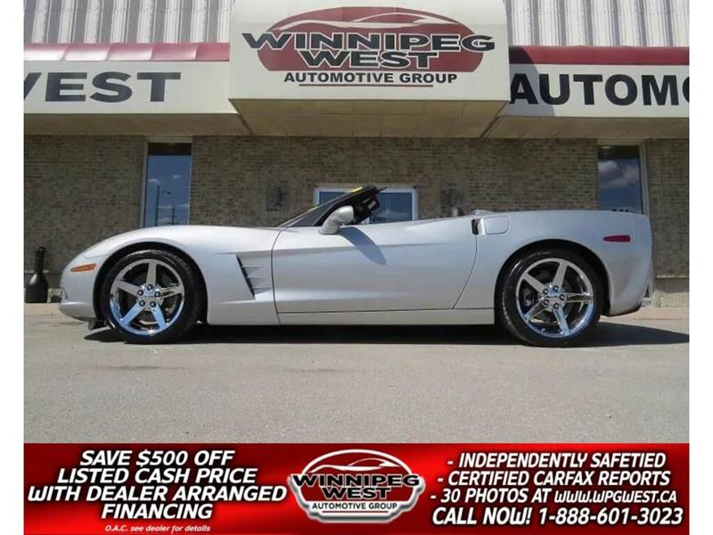 2005 Chevrolet Corvette 3LT Z51, 6-SPEED, LOADED, SHARP & FLAWLESS! #W4101