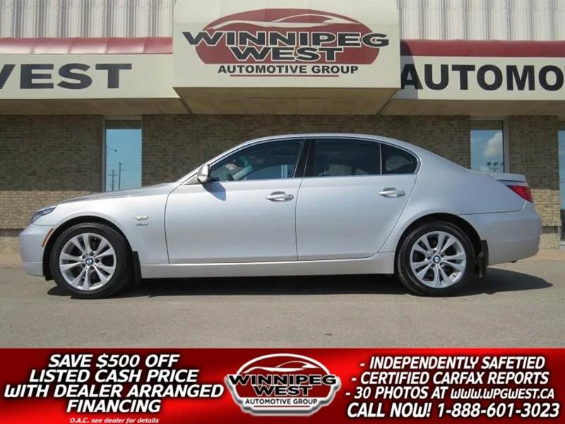 2009 BMW 535i Xdrive TWIN TURBO, ALL WHEEL DRIVE, BLUETOOTH, LOW KMS! #SW3696