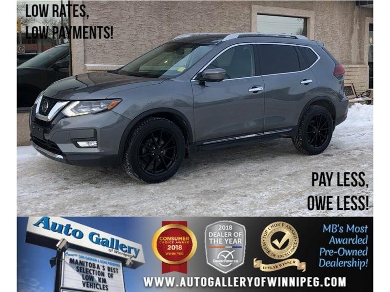 2018 Nissan Rogue SL *AWD/Navi/Bluetooth/Lthr/Roof #23760