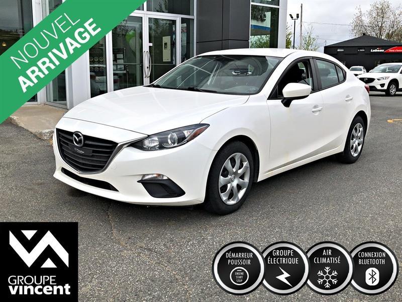 Mazda Mazda3 2015 GX AIR CLIMATISÉ **GARANTIE 10ANS** #Z5839M