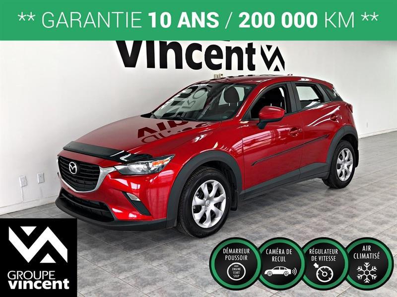 Mazda CX-3 2017 GX **GARANTIE 10 ANS** #H5501AM