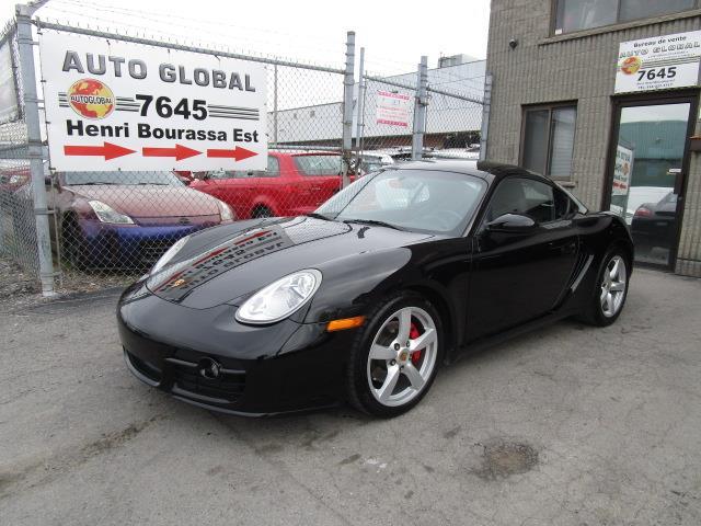 Porsche Cayman 2006 S Cayman EXTRA CLEAN, BAS MILLAGE  #19-784