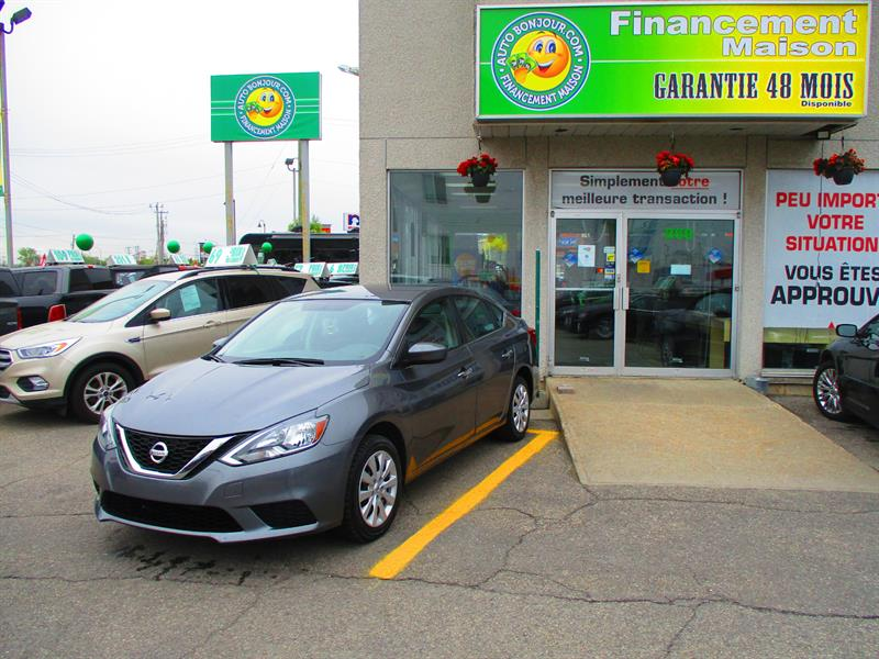 2016 Nissan Sentra 4dr Sdn S #19-062-1