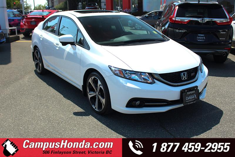 2015 Honda Civic Sedan Si 4DR Manual Navi Bluetooth #B5684