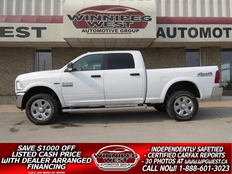 2018 Ram 2500 OUTDOORSMAN 6.4L HEMI 4X4, NAV, OFF ROAD PKG #GW4851