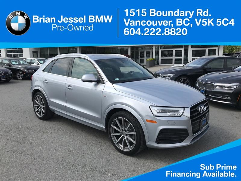 2016 Audi Q3 2.0T Technik quattro 6sp Tiptronic #BP8191