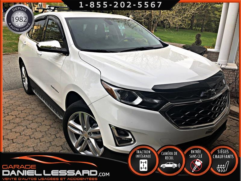Chevrolet Equinox 2019 AWD 1LT, MAG 19'' CAM RECUL, TRÈS BAS KM, PRÊT ! #99076