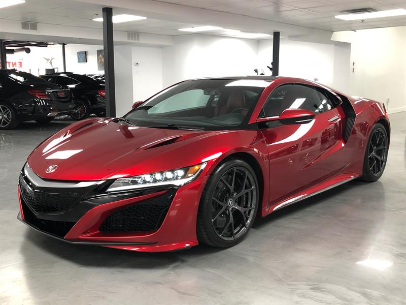 2017 Acura NSX TECH PACKAGE / CERAMIC BRAKES #SN476