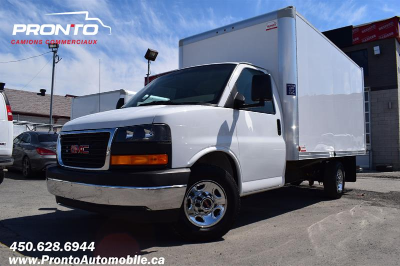 GMC Savana Commercial Cutaway 2017 3500 ** CUBE 14 PIEDS ** 4.8L ** COMME NEUF ** #1870
