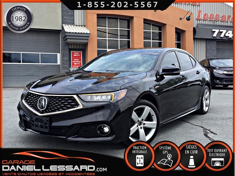 Acura TLX 2018 SH-AWD ELITE A-SPEC, CUIR, TOIT, GPS ET PLUS ! #89330