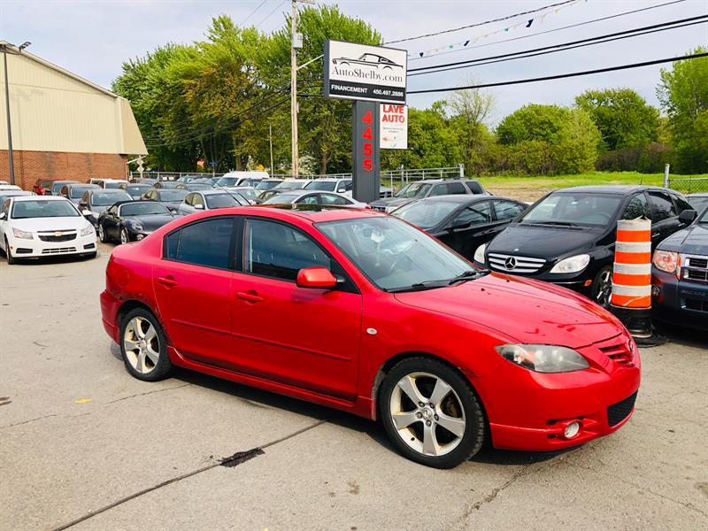 Mazda Mazda3 2005 GT-Toit-Mags-Tres Economique #95610-2