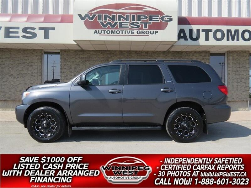 2012 Toyota Sequoia 8 PASS V8 4X4, SUNROOF, HTD LEATHER, TOW PKG #GIW5050