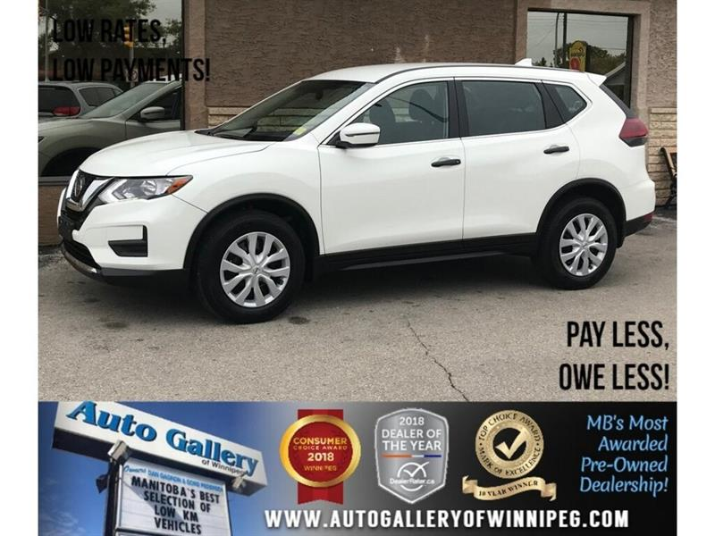2018 Nissan Rogue S *AWD/Backup Cam/Low KMs! #23544