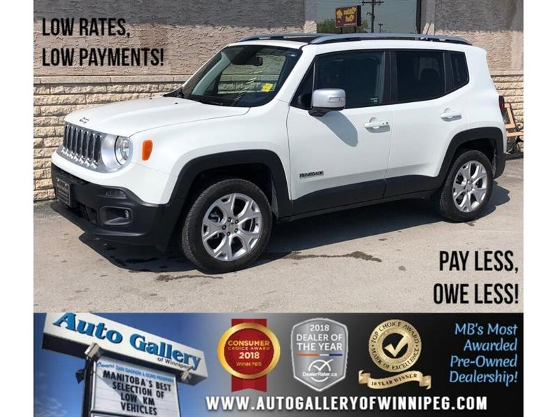 2018 Jeep Renegade Limited *4WD/Htd Lthr/Navi/Roof #23920