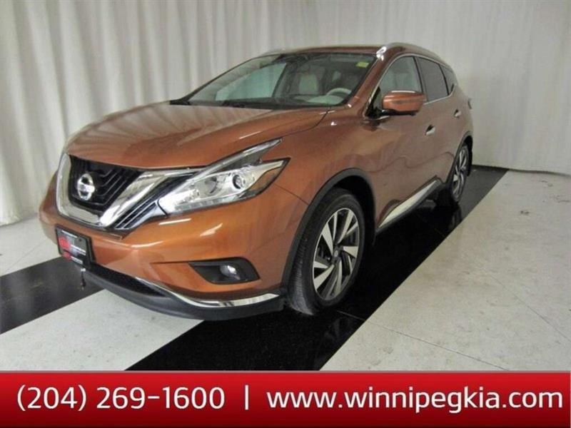 2016 Nissan Murano Platinum, Leather Sunroof Nav #20TL247A