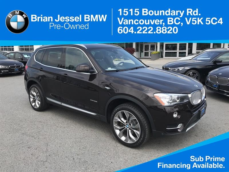 2016 BMW X3 - Premium ; Tech Pkg - #BP8184