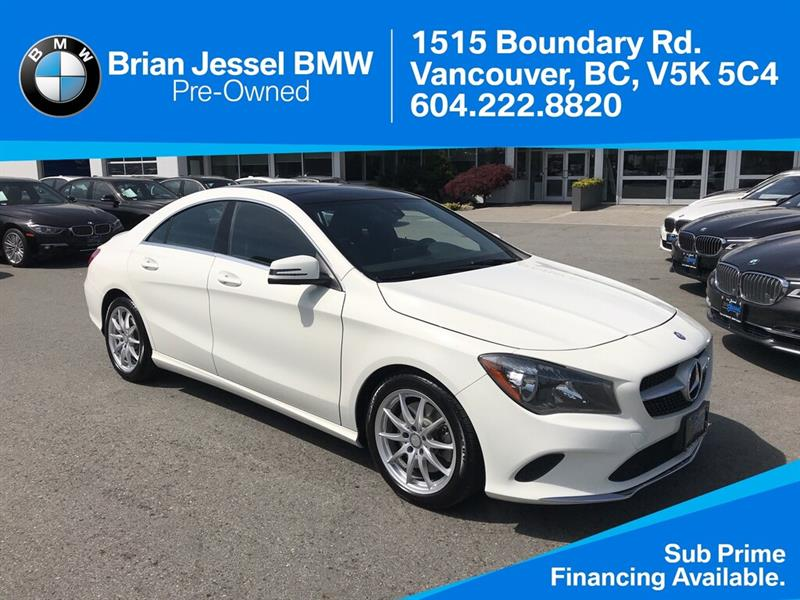 2017 Mercedes-Benz CLA250 4MATIC Coupe #BPS042