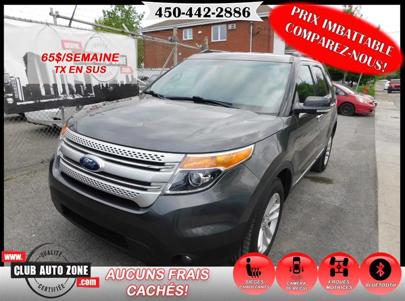 Ford Explorer 2015 4WD XLT 6 PASSAGERS BLUETOOTH  #FCG42905