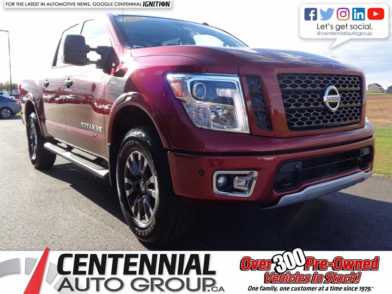 2018 Nissan Titan Pro 4X  | Local Trade | One Owner #SP19-028