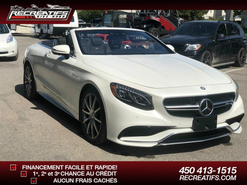 Mercedes-Benz S-Class 2017 2dr Cabriolet AMG S 63 4MATIC #024543