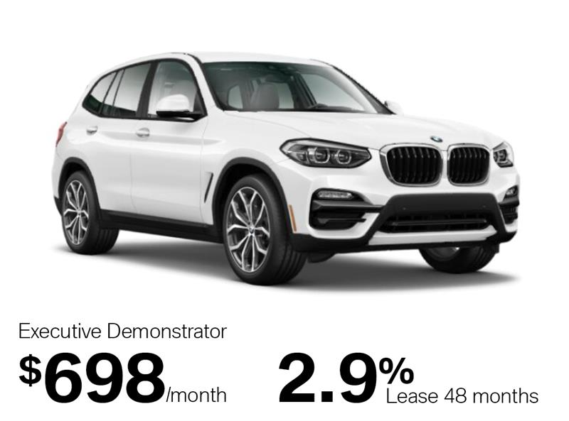 2019 BMW X3 xDrive 30i Sports Activity Vehicle #K0169