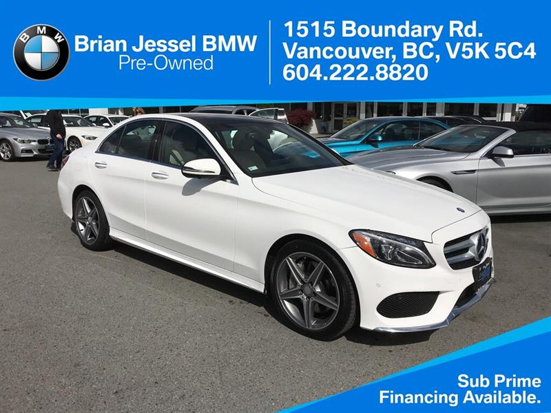 2016 Mercedes-Benz C300 4MATIC® #BP8010