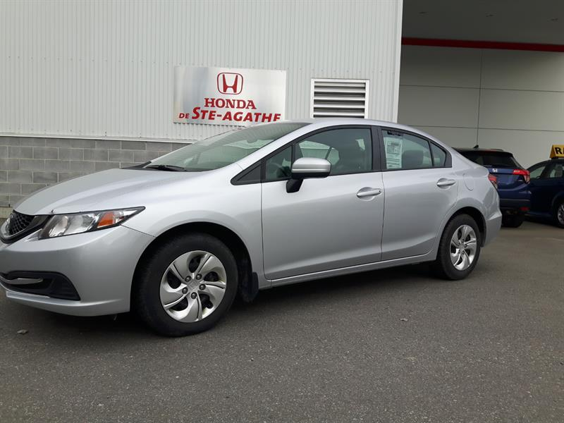 Honda Civic 2015 Auto LX * Sièges chauffants, Bluetooth, door-lock. #k171a