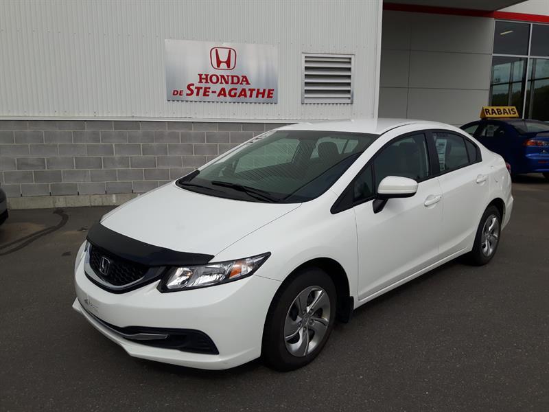 Honda Civic 2015 LX CVT ** Caméra recul, Bluetooth, Sièges chauff.. #j264ya