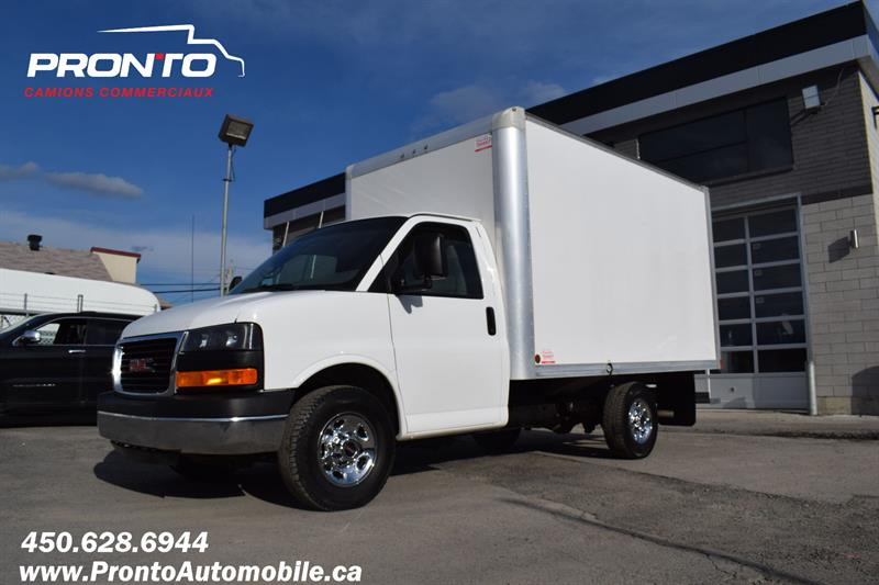 GMC Savana 3500 Cube 12 Pieds 2018 3500 ** 6.0L ** Roue simple **  #F1873