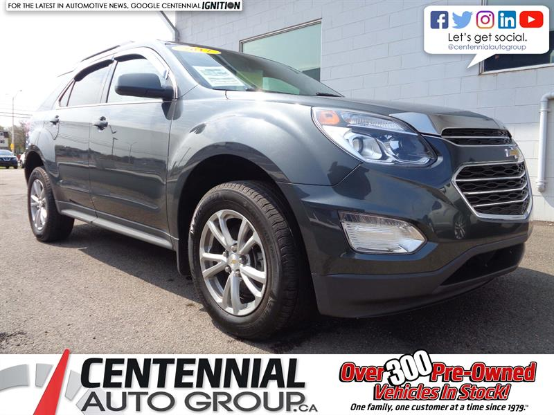 2017 Chevrolet Equinox LT | AWD | Moonroof | Bluetooth | Heated Seats #18-365A