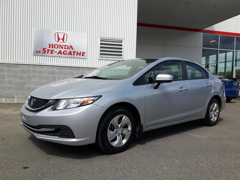 Honda Civic 2014 LX Auto - Bluetooth, USB, Cruise, Groupe élect. #k111a