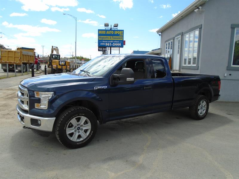 Ford F-150 2016 4WD SuperCab