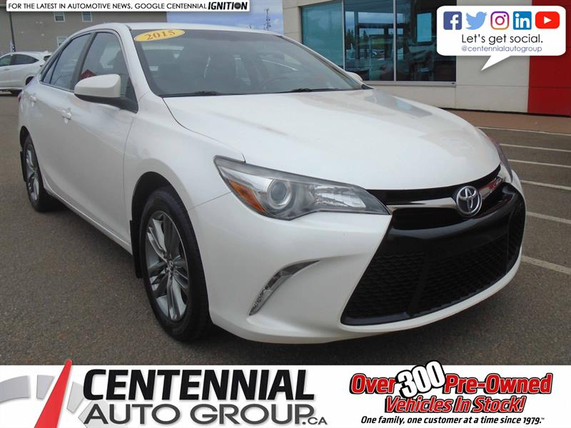 2015 Toyota Camry SE  #9870A