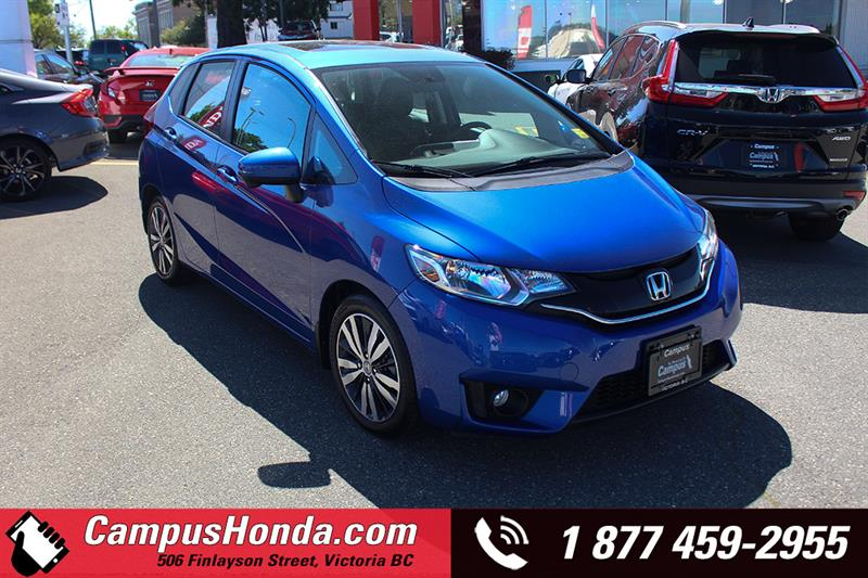 2017 Honda Fit EX-L w-Navi Bluetooth #B5683