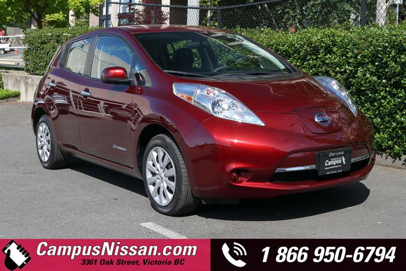 2016 Nissan Leaf | S | FWD w/ Quick-Charge #JN3222