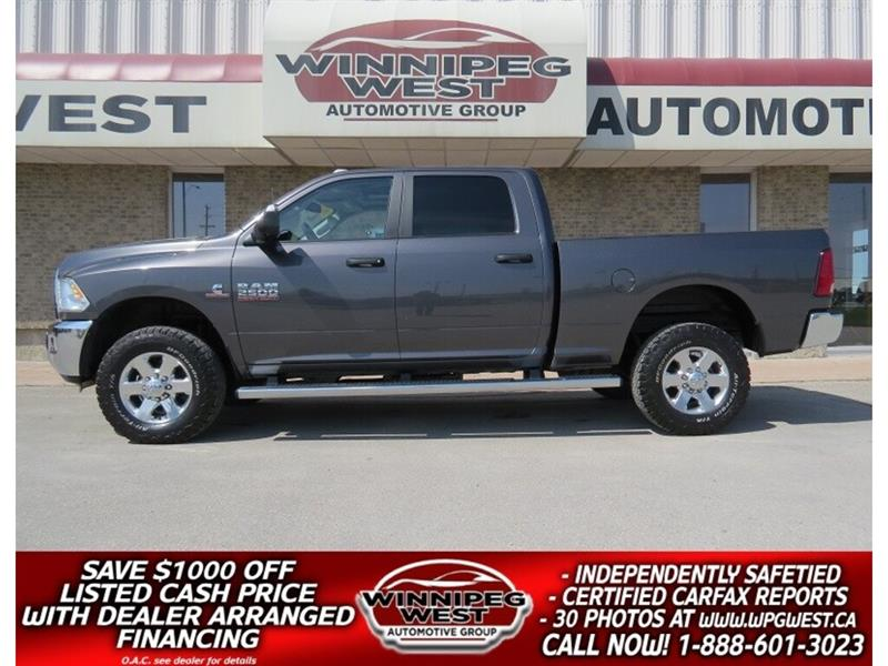2015 Dodge Ram 2500 CREW 6.7L CUMMINS 4X4, LOCAL, LOADED & SHARP!! #DW5069A