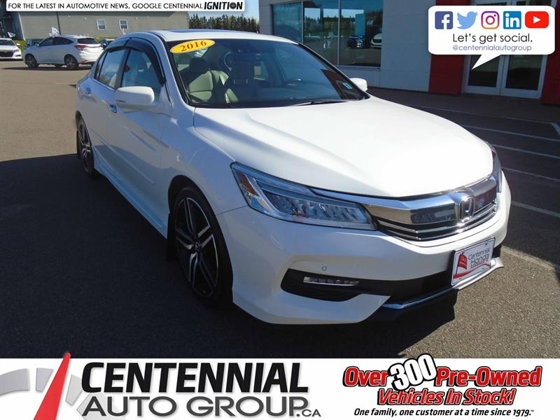 2016 Honda Accord Sedan Touring | Honda Sensing | NAVI | Backup Camera |  #9776A
