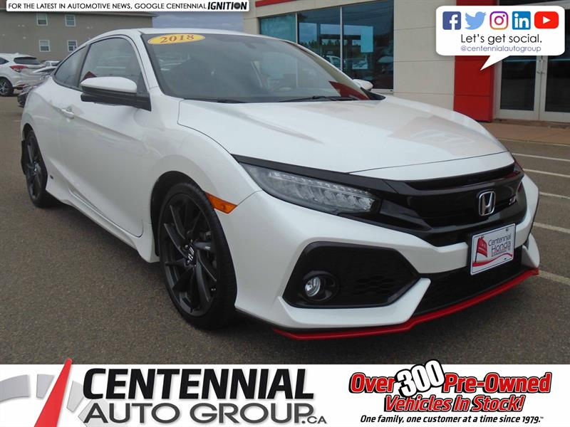 2018 Honda Civic Coupé Si | NAVI | Heated Seats | Bluetooth |  #U1919