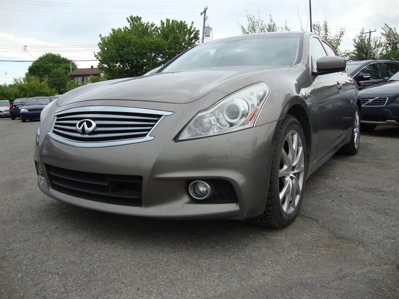 2012 Infiniti G37 Sedan XS AWD NAVIGATION-TECH PCKG #S043