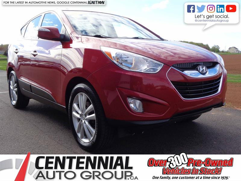 2013 Hyundai Tucson Limited | Local Trade | One Owner #S19-072A