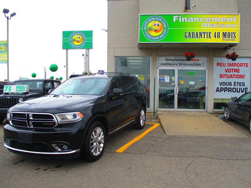 Dodge Durango 2016 AWD 4dr Limited #19-108